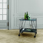 Gubi Mategot trolley, black