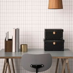 Ferm Living Hexagon ruukku S, messinki