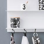 Design Letters Ganci magnetici Tool Hook, set di 6
