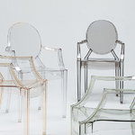 Kartell Louis Ghost chair, clear