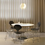 Vitra Wire Chair DKR, chrome