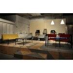 Artek Kiki sohvapöytä, 60 x 60 cm, musta - musta laminaatti