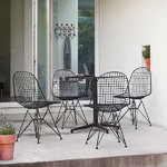 Vitra Wire Chair DKR, black