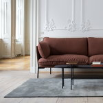 &Tradition Cloud LN2 sofa, 2-seater, brown leather