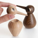 Architectmade Bird small, smoked oak