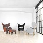 By Lassen My Own Chair tuoli, tammi - musta