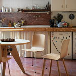Vitra HAL Ply Wood chair, oak