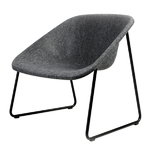 Inno Kola Lounge chair, black