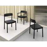 Normann Copenhagen Timb tuoli, musta - Ultra nahka musta