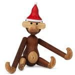 Kay Bojesen Cappello di Natale per la scimmia di legno piccola