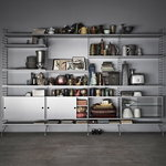 String Furniture String shelf 58 x 30 cm, 3-pack, grey