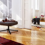 Vitra Eames Elephant, nero