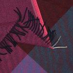 Vitra Colour Block torkkupeitto, sininen - viininpunainen