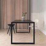 By Lassen ML42 stool, 48 cm, black stained beech