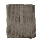 The Organic Company Big Waffle towel and blanket, clay