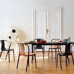 Vitra Belleville chair, black