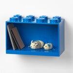 Room Copenhagen Lego Brick Shelf 8, bright blue