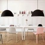 Muuto Visu chair, steel frame, white