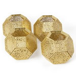 Tom Dixon Etch candleholder, brass