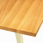 Vitra Em Table 200 x 90 cm, oak - japanese red