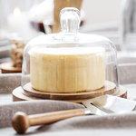 Sagaform Oak juustokupu