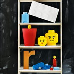 Room Copenhagen Lego Storage Head container, L, Girl