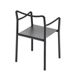 Artek Rope chair, black