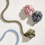 Design House Stockholm Knot cushion, pink