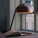 Hay Cloche table lamp, brass