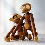 Kay Bojesen Scimmia di legno, piccola, teak