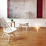 Artek Mademoiselle lounge chair, black