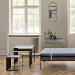 Ferm Living Cluster tables 3 pcs, black