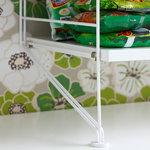 String Furniture Pannello da pavimento String 200 x 30 cm, bianco