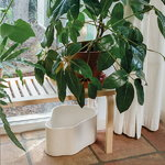 Artek Riihitie plant pot A, large, white gloss