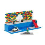 Room Copenhagen Lego Play & Display case, bright blue