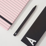 Design Letters Arne Jacobsen pencil case, A-Z