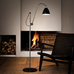 Gubi Bestlite BL3 floor lamp, S, chrome - matt white