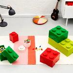 Room Copenhagen Lego säilytysrasia 1 pyöreä, valkoinen