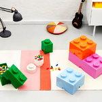 Room Copenhagen Lego säilytyslaatikko 8, vaaleansininen