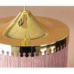 Warm Nordic Fringe riippuvalaisin 20 cm, vaaleanpunainen