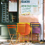 Fermob Bistro Metal chair, cedar green