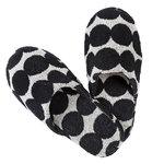 Marimekko Räsymekko slippers, black-white
