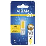 Airam LED lamppu 2W G9 200lm