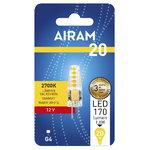 Airam LED lamppu 1,8W G4 710lm