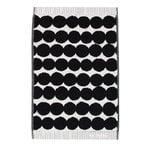 Marimekko Räsymatto guest towel, black-white