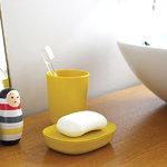 Ekobo Bicchiere per spazzolino Bano, lemon