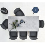 Cane-line On-the-move table, small, dark blue