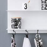 Design Letters White Paper A3 wall shelf