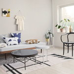 Ferm Living Marble table, large, black