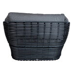 Cane-line Basket nojatuoli, grafiitti - harmaa